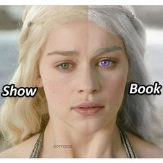 "6,185 Likes, 201 Comments - Game of Thrones (@gameofthronespost) on Instagram: ""Show Dany or Book Dany? #gameofthronespost #gameofthrones #hbo #daenerystargaryen"""