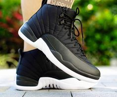 buy online 36193 a2ca3 Another Look At The Upcoming Air Jordan 12 Black Nylon