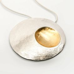 Moon Shell Statement Piece. Custom Jewelry, Gold Jewelry, Jewellery, Hamilton Jewelry, 22 Carat Gold, Irish Jewelry, Gold Plating, Jewelry Collection, Jewelry Design