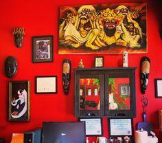 Zulu Tattoo artist station.