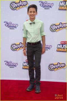 Tenzing Norgay Trainor at the Radio Disney Music Awards 2015