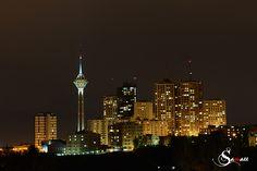 tehran#night#milad tower
