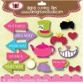 Designs on Cloud 9 Mad Hatter Icons SVG and cutting files