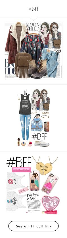 """""""#bff"""" by rabbitzzfashion ❤ liked on Polyvore featuring GE, Dickies, Frye, polyvoreeditorial, yoins, Marc by Marc Jacobs, Madewell, 1&20 Blackbirds, Juicy Couture and DesignSix"""