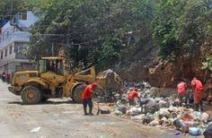 Atendidas once parroquias durante operativos de desechos de fin de semana