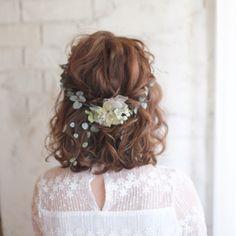 Romantic style hair....