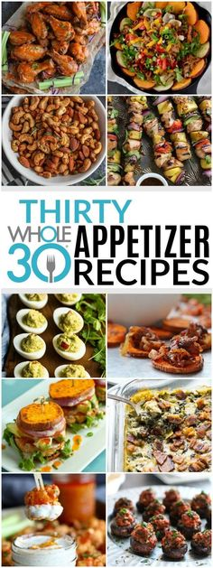 30 Whole30 Appetizers | healthy appetizer recipes | whole30 approved appetizers | gluten-free appetizers | easy healthy appetizers || The Real Food Dietitians #whole30appetizers #whole30recipes #healthyappetizers