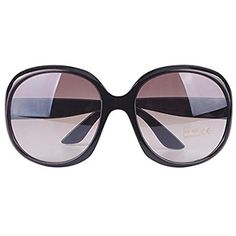 79c949ca2 It's an Amazon affiliate link. See more. CALISTOUS Super Strength And  Durability Of Big Glasses Women Oversized Sunglasses Black. UK sunglasses.