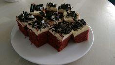 Redvelvet oreo brownies