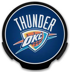 Oklahoma City Thunder Light Up POWERDECAL