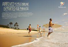 tourism print ad - Austrailia