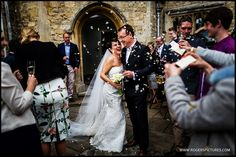 Zoe and Robert married at Buckinghamshire's Notley Abbey in April, more here -