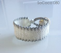 SoCoco - Life and Travel with a Capital Style Macrame Bracelets, Fashion Inspiration, How To Apply, Unique, Silver, Handmade, Stuff To Buy, Jewelry, Hand Made