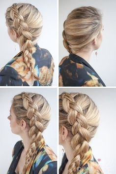 Every once in a while I see a hairstyle that is so simple but it totally blows my mind..... *mind blown*