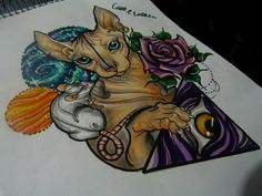neo traditional drawings - Buscar con Google