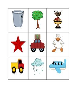 Free Rhyming Cards!  This set includes rhyming cards that you can use in a center, in a pocket chart, or during group time.