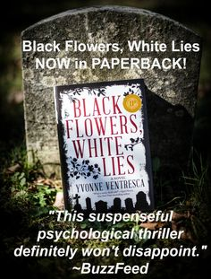 #BlackFlowersWhiteLies now available in paperback