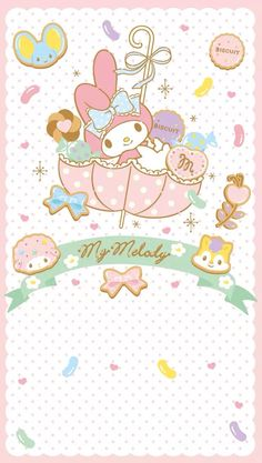 My Melody ❤ Wallpaper
