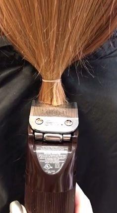 Long Red Hair, Super Long Hair, Long Hair Cuts, Long Hair Styles, Long Hair Ponytail, Ponytail Hairstyles, Balding Long Hair, Forced Haircut, Cut Her Hair