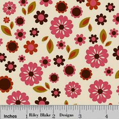 Indian Summer by Zoe Pearn - Cream      Designed by Zoe Pearn for Riley Blake Designs.