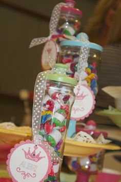 candy jars, upcycle, jars, candle sticks