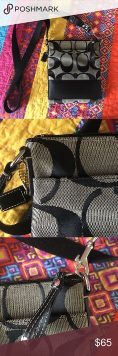 Coach Crossbody Purse Brown/Tan Coach Crossbody Purse Brown/Tan. Used 3 times. Great condition! I am always willing to negotiate. Coach Bags Crossbody Bags