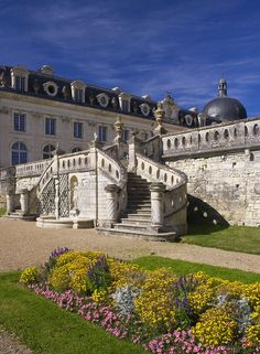 https://flic.kr/p/5zmJta | Gardens at Chateau de Valency | Formal gardens of the Chateau de Valencay, Loire Valley, France