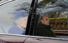 The monarch had delayed her annual trip to Sandringham before Christmas due to the heavy c...