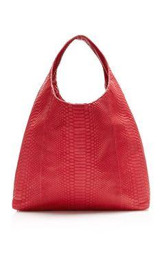 016180d573 Red Matte Python Hobo Bag by Hunting Season for Preorder on Moda Operandi  Creative Bag