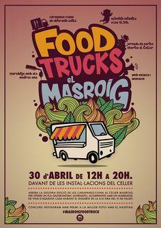 Llega la 2ª edición de Food Trucks en el Celler Masroig