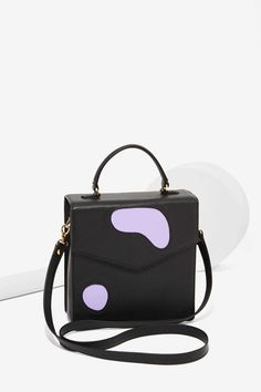 Welcome Companions Spot Check Leather Crossbody Satchel | Shop Accessories at Nasty Gal