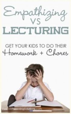 How To Handle Kids Who Won't Do Their Homework or Chores