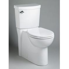 Round Front Toilets - Clean High Efficiency Complete Toilet by American Standard Canada