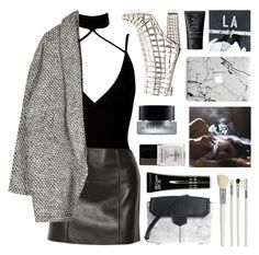 """Untitled #2941"" by tacoxcat ❤ liked on Polyvore featuring Boohoo, T By Alexander Wang, Yves Saint Laurent, Bobbi Brown Cosmetics, Alexander Wang, NARS Cosmetics, Cath Kidston and Butter London"