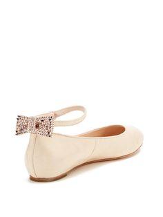 Dakota Ankle Strap Flat by Alice + Olivia. NEED