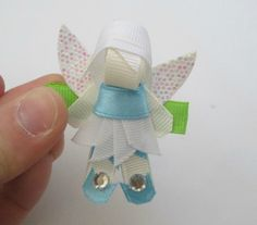 Disney Fairy Periwinkle Inspired Hair Clip by HappyBowMaker, $5.00