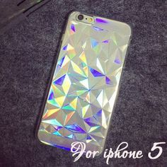 $19.95 value - only 11.99 - 3D Hologram Iridescent Rainbow Case For iPhone - Free Shipping iPhone Compatibility: - 5 - 5S - 6 - 6S plus Compatible Brand: Apple iPhones Size: 4.7-5.5 inch Function: Dir
