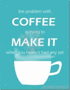DesignByNettis:  ♥ aint this a problem... Making #morningcoffee w...