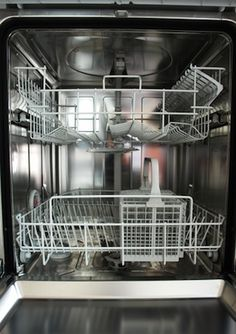 How to Clean a Dishwasher - Interior