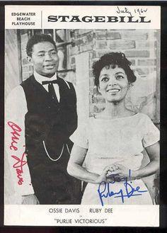 rudy dee  | Ossie Davis and Ruby Dee On Broadway