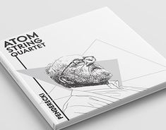 String Quartet, Wacom Intuos, Cd Cover, Graphic Design Illustration, Working On Myself, Booklet, New Work, Adobe, Behance