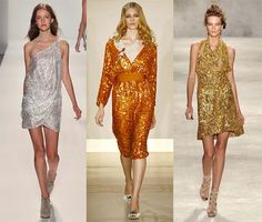 Spring 2010 Fashion Week Trend: Sequined Disco Dresses - Omiru ...