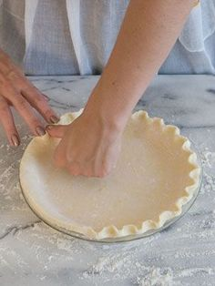 Cream cheese pie crust...great for any pie! Flaky, buttery, and had a great cream cheese flavor