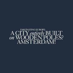 Fascinating Europe | #FunFact #Netherlands #happymonday