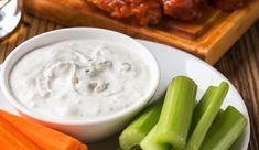 Try this amazing version of your favorite blue cheese salad dressing, with cultured dairy replacing the usual mayonnaise base. It's healthier, creamier, and more delicious! Blue Cheese Dressing, Dressing Recipe, Chicken Nuggets, Bagels, Mayonnaise, Lactose Free Milk, Blue Cheese Sauce, Veggie Noodles, Recipes