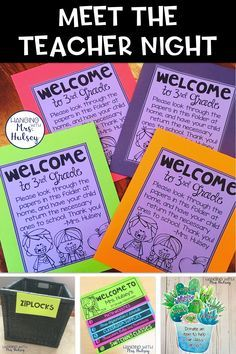 Meet the teacher night, open house night, back to school night-- Tips, freebies, printables and plans to make the start of your school year a breeze! Back To School Night, 1st Day Of School, Beginning Of The School Year, Back To School Teacher, Back To School Ideas For Teachers, Teacher School Supplies, Back To School Sayings, School Starts, School Stuff