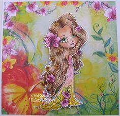 Helen's Crafty Shed: Little Dragonfly and Flower Girl