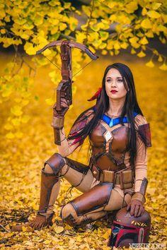 Hendo Art [as Pocahontas - as a Disney Fett] (Mash-Up / Cosplay by AmberArden Disney Cosplay, Pocahontas Cosplay, Epic Cosplay, Amazing Cosplay, Cosplay Outfits, Cosplay Girls, Cosplay Costumes, Disney Steampunk Cosplay, Boba Fett Cosplay
