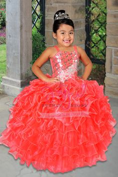 85595d40e vestidos de nina charra para presentacion de 3 anos FLOWER GIRL DRESS   FGD030RD Boys Fashion