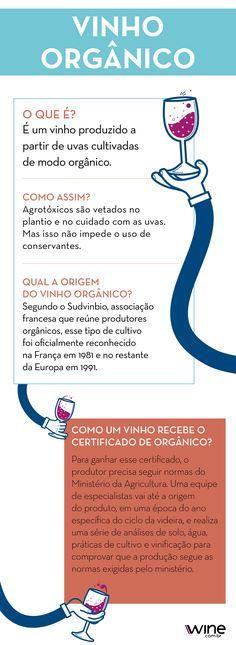 Conheça mais sobre o vinho orgânico. #wine #vinho #nature